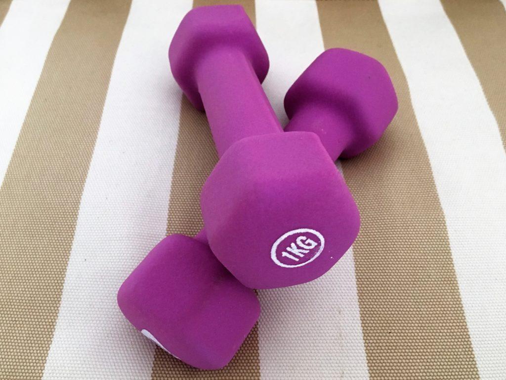Hanteln Muskelaufbau Wechseljahre
