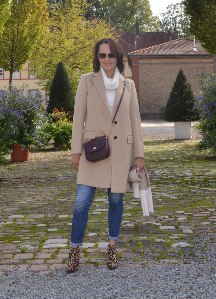 Herbstoutfit mit Camelcoat