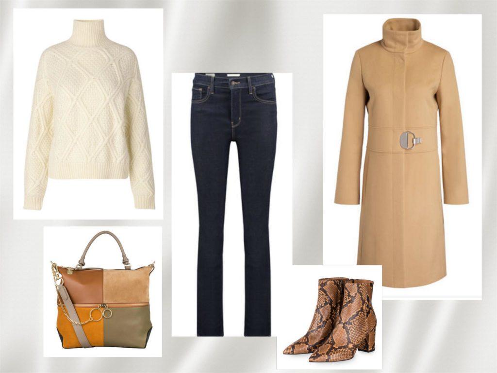Jeans und Camelcoat sind Winter Basics