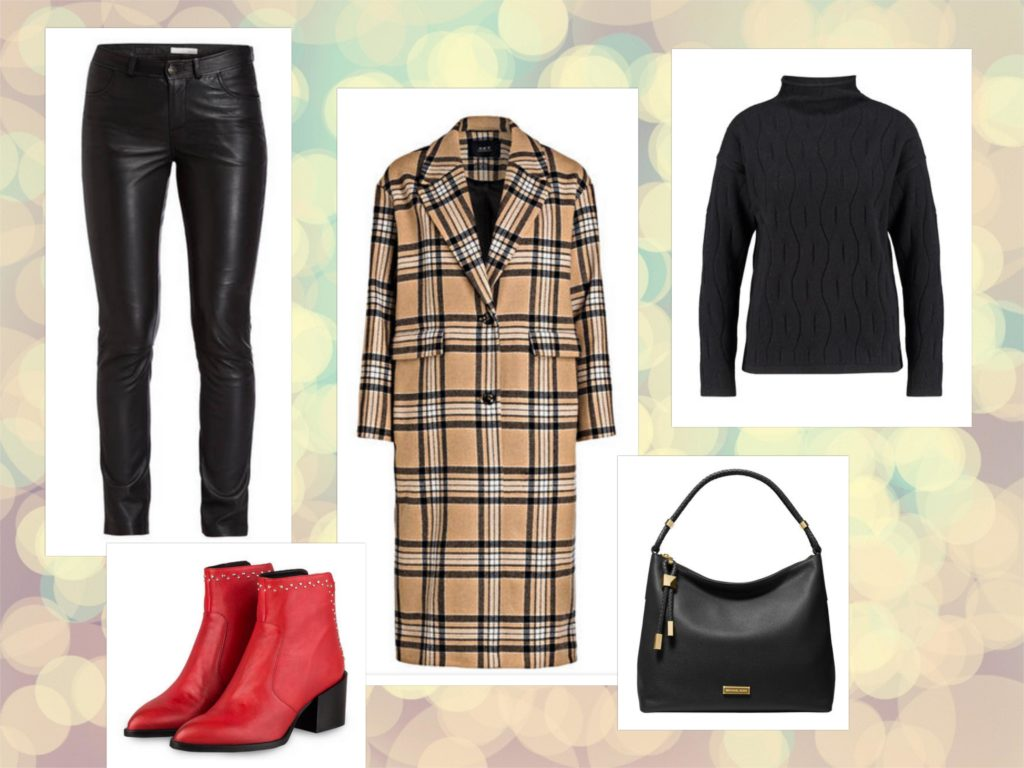 Outfit mit Winter Basics