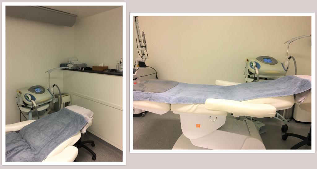 Behandlungsraum Pigmentflecken entfernen lassen mit IPL-Laser