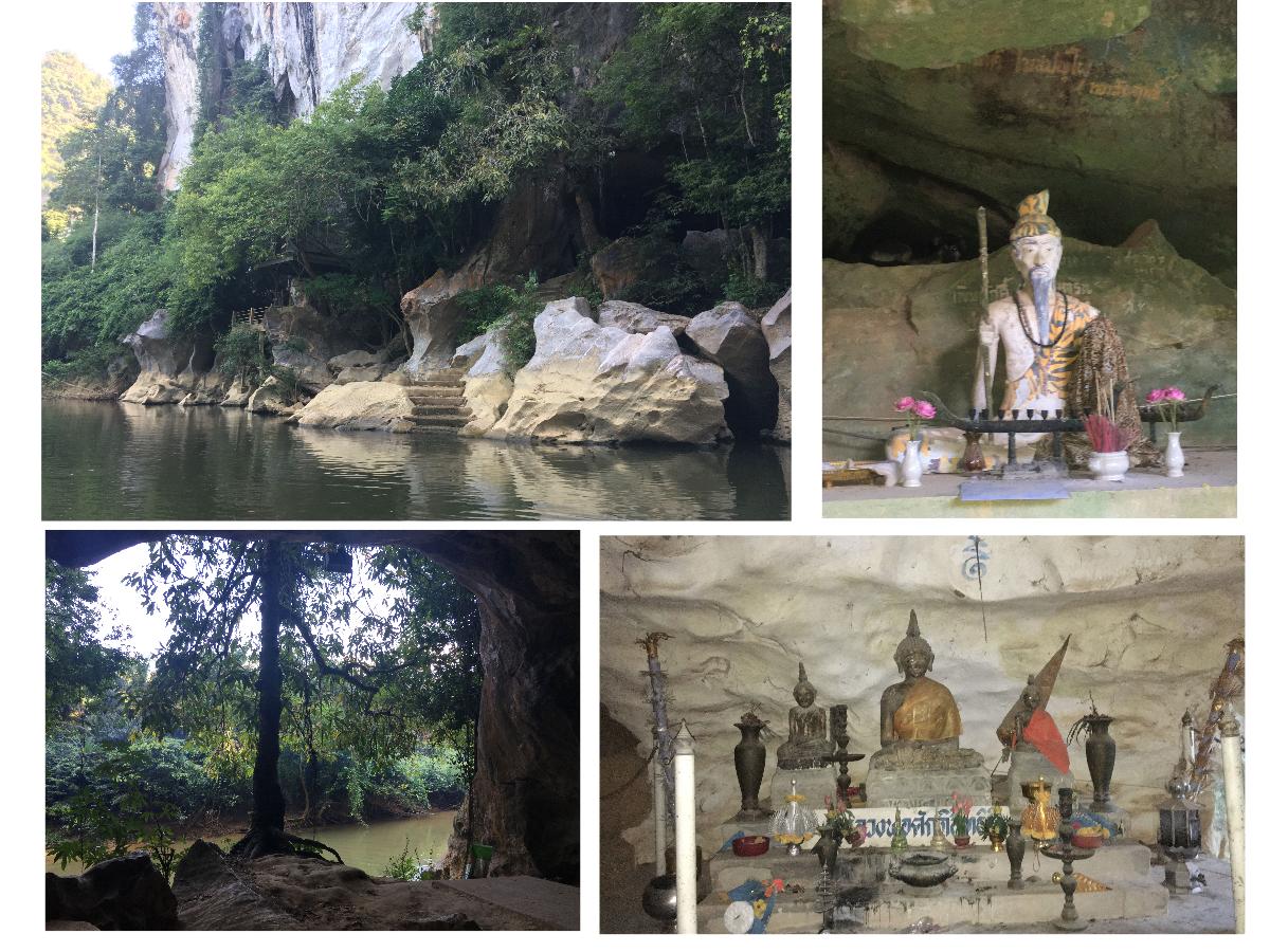 Khao Sok River Tempelanlage